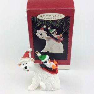 Vintage Hallmark Polar Bear Ornament